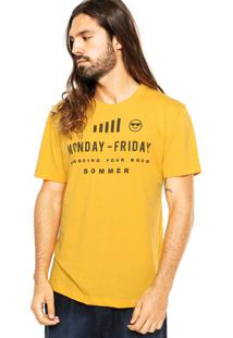 Camiseta Sommer Emotions Amarela