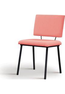 Cadeira Preciosa Coral Base Preta - 55853 - Sun House
