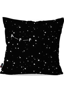 Capa De Almofada Avulsa Preto Constelaã§Ã£O Ninguã©M Liga 45X45Cm - Preto - Dafiti