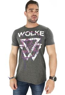 Camiseta Wolke Gola Careca Hot Summer Ii