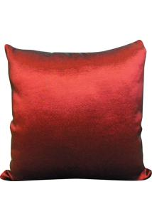 Capa Para Almofada Tafeta 45X45 - Perfil Matelados - Vermelho