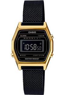 Relógio Feminino Casio - Feminino-Preto