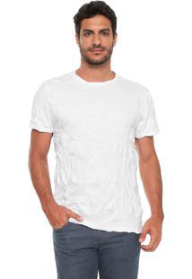 Camiseta Reserva Amassada Branca