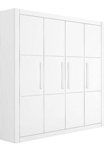 Guarda-Roupa Infantil Unissex 4 Pt 4 Gv Affetto Branco Acetinado