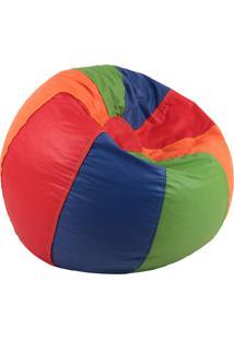 Puff Color Infantil Unissex Corino Estampa Infantil