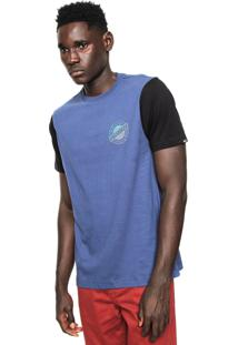 Camiseta Quiksilver 1969 Azul
