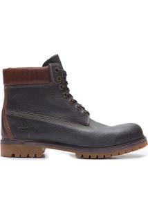 Bota Masculina 6'' Premium Boot Forged Iron Waterbuck - Preto