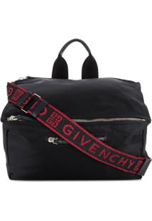 Givenchy Logo Shoulder Bag - Preto