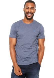 Camiseta Aleatory Bordado Azul