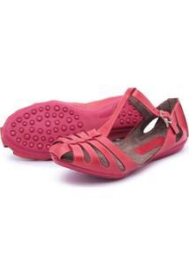 Sapatilha Feminina Top Franca Shoes - Feminino-Vermelho Claro