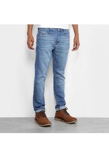 Calça Jeans Skinny Replay Estonada Masculina - Masculino