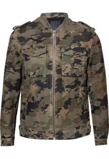 Jaqueta Army (Estampado, G)
