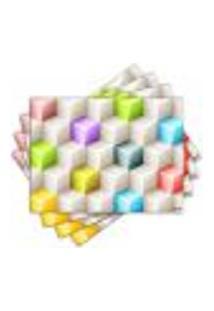 Jogo Americano - Cubos Com 4 Peças - 560Jo