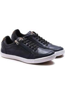 Sapatenis Ped Shoes Zíper Lateral Masculino - Masculino