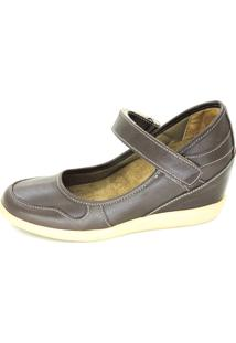 Sapato Infinity Shoes Conforto Café