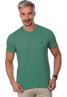 Camiseta Javali Slim Verde Esmeralda
