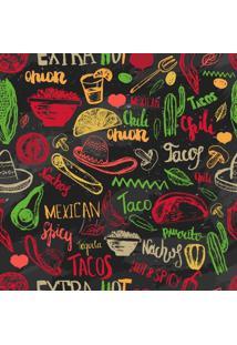Papel De Parede Adesivo Cozinha Mexicana (2,50M X 0,58M)