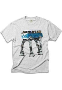 Camiseta Cool Tees Kombi Wars - Masculino-Mescla