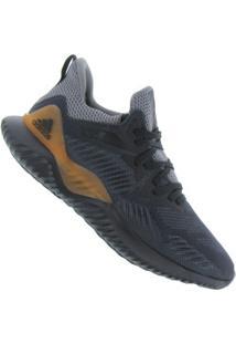 Tênis Adidas Alphabounce 2 - Masculino - Preto/Cinza Esc