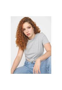 Blusa Calvin Klein Jeans Essentials Cinza