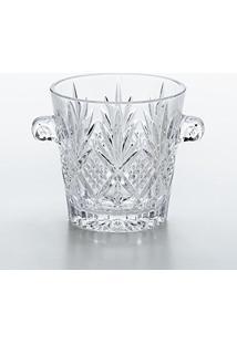 Balde Para Gelo Dublin Em Cristal - Lyor Classic - 22,5X17 Cm