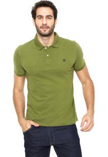 Camisa Polo Timberland Slim Kennebec Verde