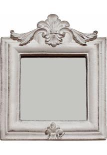 Espelho Casa Da Mãe Joana Bergamo Branco