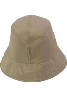 Chapéu Bucket Hat Liso Preto Marrom