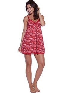 Camisola Estampada Pincel 29425 Red-Dark Comb(M006/01) P