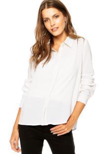 Camisa Studio Si Pérola Off-White