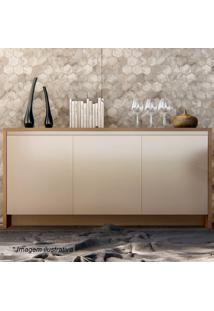 Buffet Madrid- Off White & Noce- 78X160X46Cmcasa D