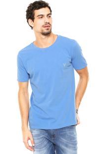 Camiseta Vr Logo Azul