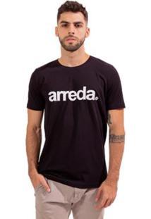 Camiseta Bendizê Arreda - Masculino-Preto