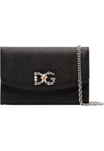 Dolce & Gabbana Bolsa Transversal Dg - Preto