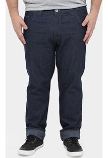 Calça Preston Plus Size Indigo 20001 Gg 1 - Masculino