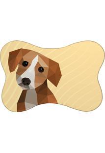 Tapete Mdecore Pet Beagle Bege 46X33Cm