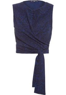 Blusa Feminina Yves - Azul