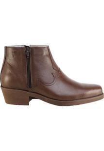 Bota Hb Agabe Boots Conforto Masculina - Masculino-Café