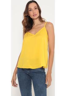 Blusa Lisa - Amarelo Escuro- Lança Perfumelança Perfume