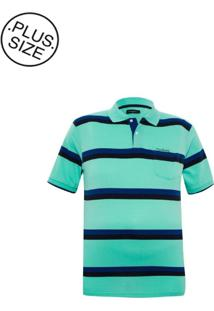Polo Plus Size Forest Green