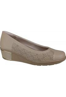 Sapato Anabela Usaflex Feminino
