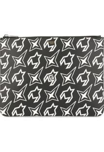 Givenchy Clutch Estampada - Preto