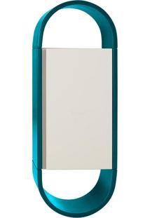 Armário Com 1 Porta Wish – Máxima - Azul / Branco