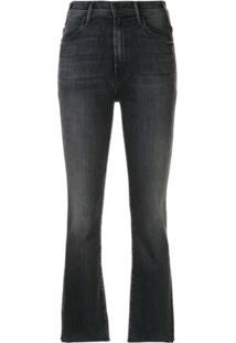 Mother Calça Jeans The Hustler - Cinza