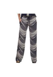 Calça Pau A Pique Pantalona Marinho