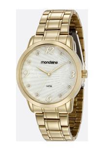 Relógio Feminino Strass Mondaine 83371Lpmvde1