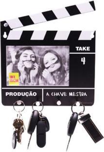 Porta Chave Claquete Com Foto Geek10 - Multicolorido