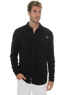 Camisa Timberland Light Cargo Masculina - Masculino-Preto