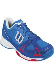Tenis Masculino Rush Evo Azul 44 - Wilson