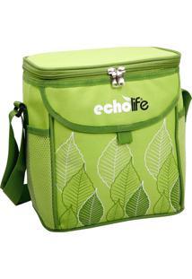 Bolsa Térmica Green 9 Litros Com Alça Ajustável - Echolife